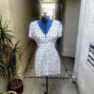 Olivaceous spring dress